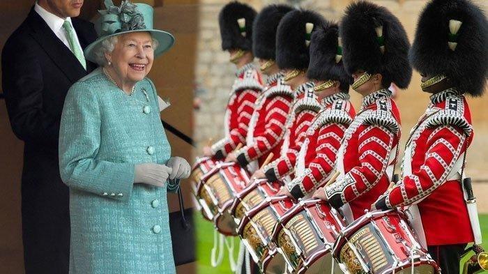 FOTO-foto Perayaan Ulang Tahun Ratu Elizabeth di Tengah Pandemi Corona