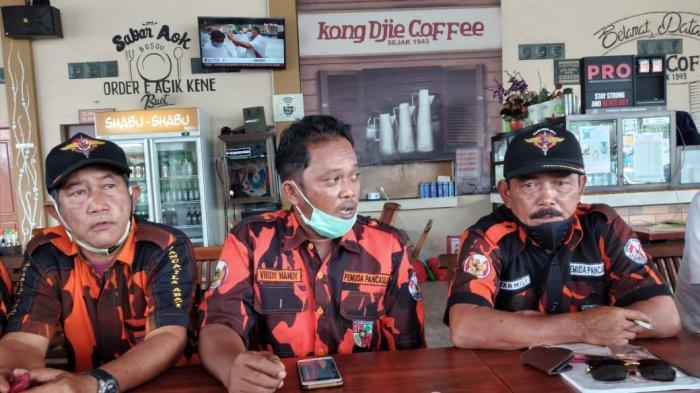 Ketua MPC Pemuda Pancasila Kabupaten Bangka pimpinan Sarmili dan jajaran pengurusnya