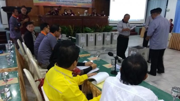 Hasil Pleno KPU Bangka, Erzaldi-Fatah Raup Suara Terbanyak