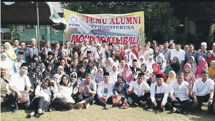 Alumni Ponpes Nurul Ihsan Baturusa Mondok Kembali