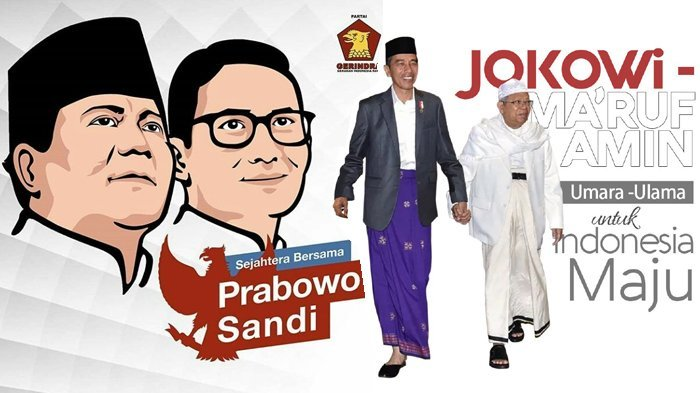 Tim Kampanye Jokowi-Ma'ruf 5.279 Orang, Prabowo-Sandiaga Hanya 94 Orang