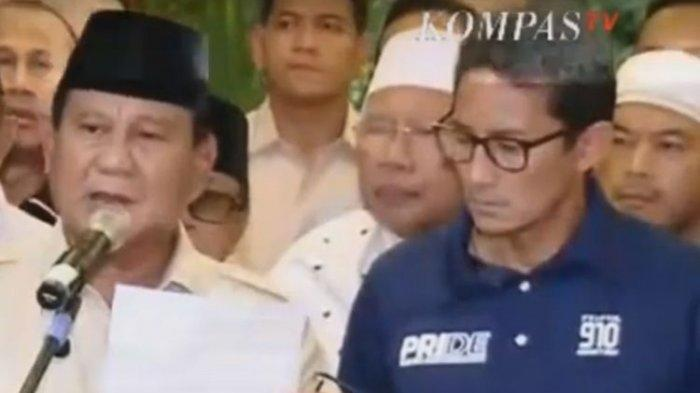 Tulisan Denny JA, Prabowo Didukung UAS, UAH, Aa Gym Tapi Kalah, Alasannya 'Too Little, Too Late'