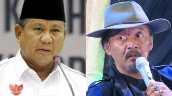 Budayawan Sujiwo Tedjo Tanggapi Ancaman Kubu Prabowo-Sandiaga Uno Mundur dari Pilpres 2019