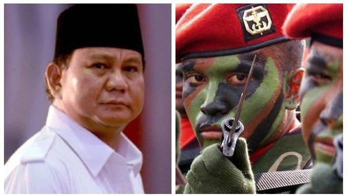 Resmi Jadi Menteri Pertahanan Kabinet Jokowi-Maaruf, Ini Jejak Tempur Prabowo Eliminasi Lobato