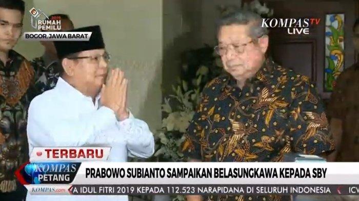 SBY Keberatan Pernyataan Prabowo soal Sikap Politik Ani Yudhoyono: Please Saya Mohon, Tidak Elok