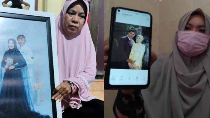 Para istri kru KRI Nanggala 402 yang hilang kontak di laut Bali.