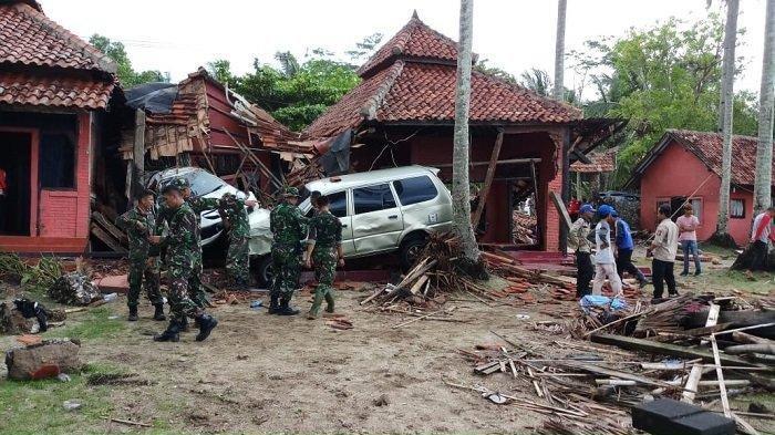 Video-video Viral Saat Kejadian dan Pasca Tsunami di Banten