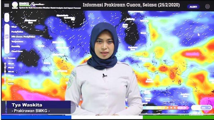 Cuaca Hari Ini, Waspada Cuaca Ekstrem Hujan Lebat hingga Puting Belitung di Beberapa Wilayah