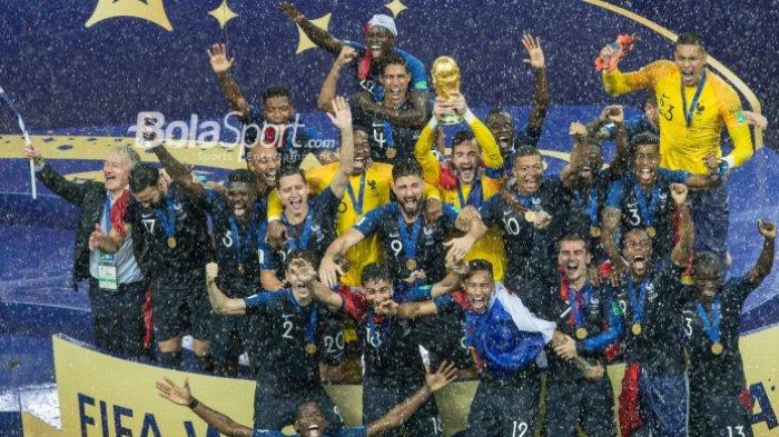 3 Pemain Ini Jadi Jimat dan Tumbal Timnas Prancis di Piala Dunia 2018