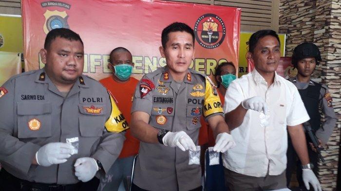 Oknum PNS Bangka Menjadi Kurir Narkoba, Tertangkap di TPU Perlang
