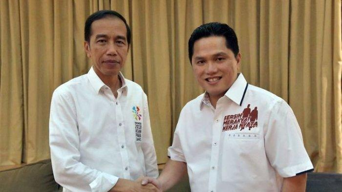 Survei Tempatkan Erick Thohir Sebagai Tokoh Teladan Nasional & Menteri Jokowi-Maruf Paling Disukai