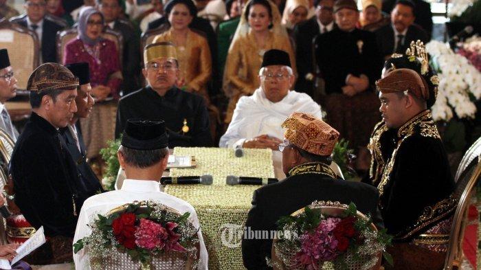 Terkuak, Putri Jokowi Ternyata Menikah pada Hari 'Luhur Sumur Sinaba', Begini Artinya