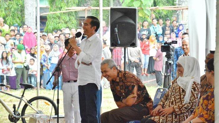 Jokowi Tanya Saya Lapar Bahasa Cilacapnya Apa? Jawabannya Nyong Kencot Bikin Ganjar Ketawa