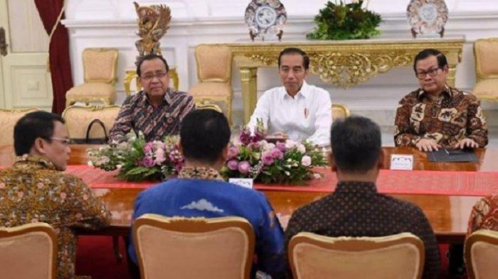 Reaksi Presiden yang Penasaran Saat Tahu Bocoran Daftar Nama Menteri Beredar pakai Kop Jokowi-Maruf