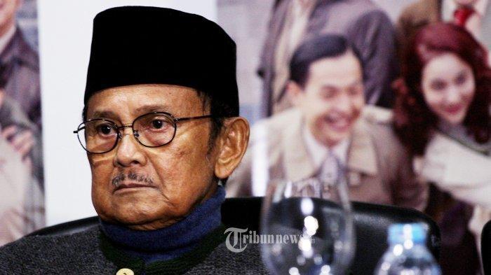Pesan Habibie Untuk Masyarakat Indonesia Jelang Pengumuman Hasil Pemilu 2019