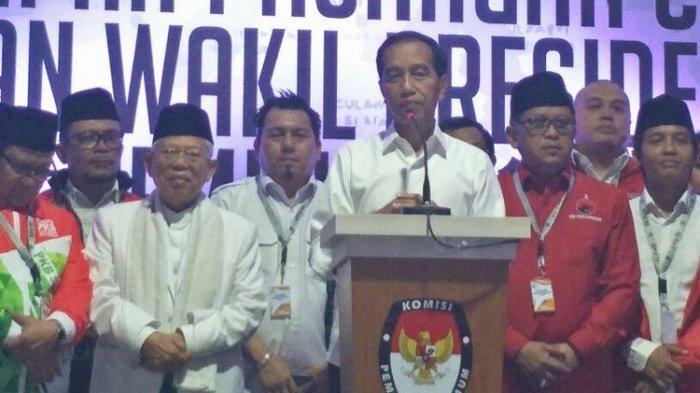 Jokowi Senang jika Prabowo-Sandi Bisa Hadir Saat Pelantikan Presiden dan Wapres
