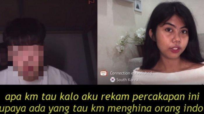 Beritanya Sampai Korea, Pemuda Korea Selatan yang Hina Cewek Indonesia di OmeTV Minta Ampun