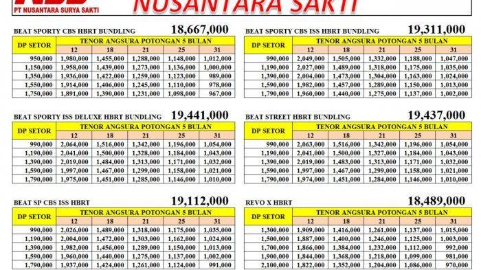Promo Habis Lebaran Dealer Honda NSS Pangkalpinang, Dp Setor Mulai Rp 1 Jutaan Potong Angsuran 5x