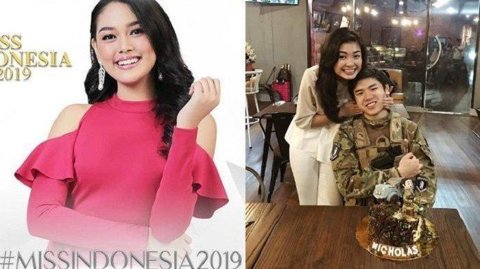 Sosok Elisa Jonathan Mantan Kekasih Nicholas Sean Putra Ahok yang Jadi Runner Up Miss Indonesia 2019