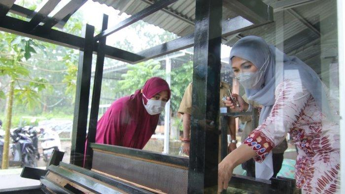 Melati Erzaldi Canangkan Deshandra Craft Jadi Sentra Kerajinan Lidi Nipah