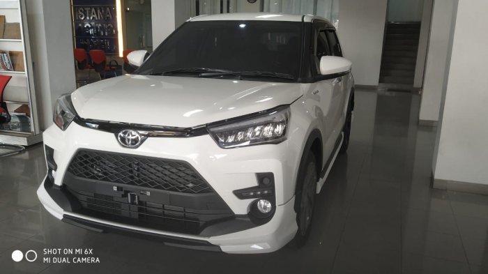 Toyota Raize Terpajang di Showroom PT Istana Agung Babel