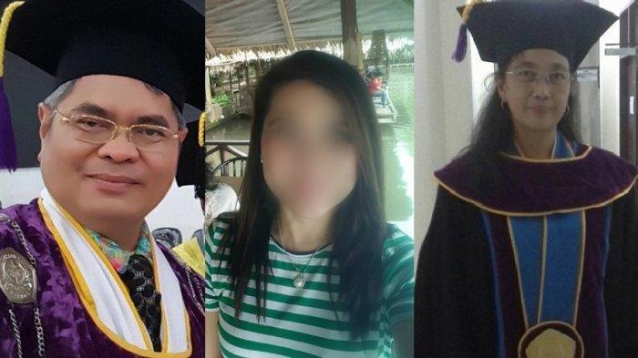 Heboh Masalah Suami Istri Bergelar Profesor, Prof Winda Menolak Bercerai, Prof Benny Menikah Lagi