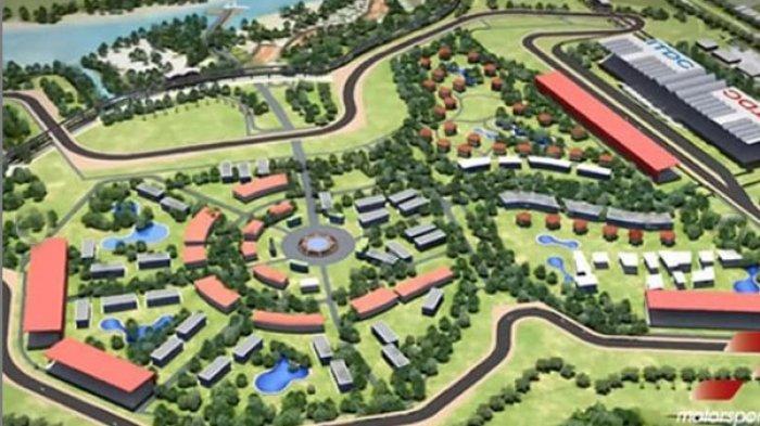 MOTO GP 2021 di Mandalika Lombok, Lihat Penampakan Sirkuit yang Akan Segera Selesai Dibangun