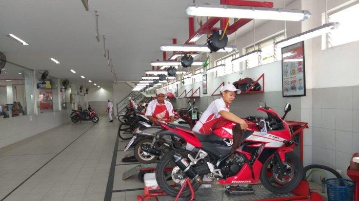AHASS PT ASP Bangka Belitung Gelar Program Service Special untuk Pelanggan Setia Motor Honda