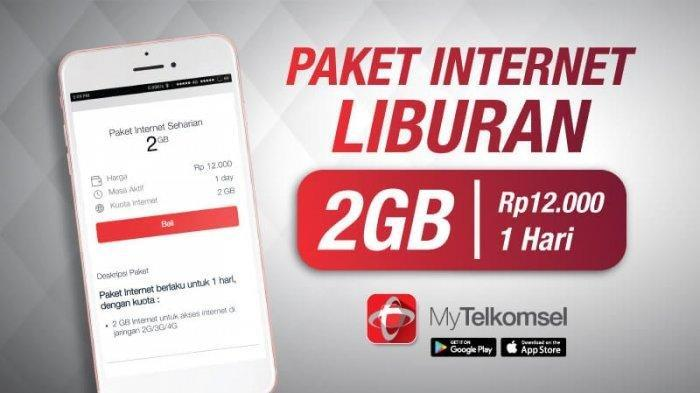 Cara Mengaktifkan Promo Telkomsel Weekend Paket Internet 2 GB Cuma Rp 12 Ribu, Ada Giveaway Rp5 Juta