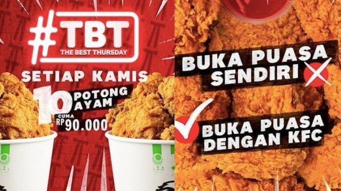 Hanya Hari Ini Saja, Promo KFC Beli 10 Ayam Cuma Rp 90.000, Cocok Buat Buka Puasa Bersama