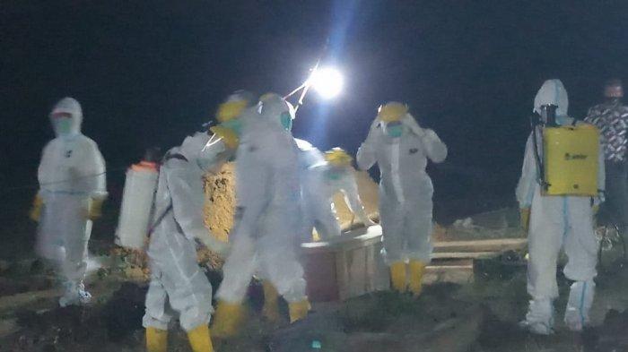 UPDATE: Lagi, Pasien Covid-19 Meninggal Dunia, Dimakamkan Malam Hari di TPU Puding Besar