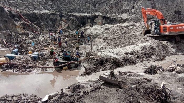 Enam Korban Laka Tambang di Kecamatan Lubuk Besar Bangka Tengah Sudah Dievakuasi