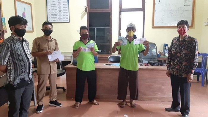Pemdes Payung Salurkan BLTDD Tahap II ke 502 Kepala Keluarga