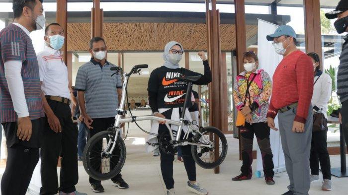 Event Tour de Babel Diharapkan Jadi Tanda Lahirnya Sepeda Lipat 'Billiton' Karya Anak Negeri