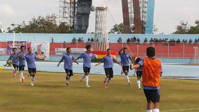 PS Babel Unggul Cepat Atas PS Lampung