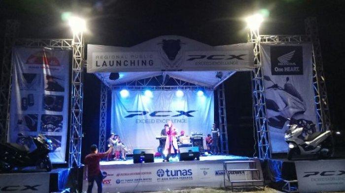 Launching New Honda PCX di Bangka Tengah Meriah