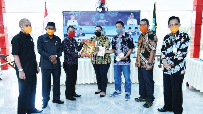 PT BAA Peduli Kasih Bantu Pemkab Bangka Lawan Pandemi Corona