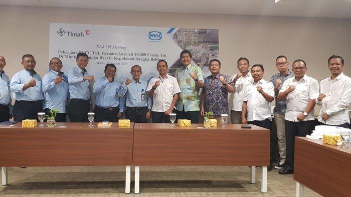 PT Timah Bangun Smelter Baru Berteknologi Ausmelt di Muntok Bangka Barat