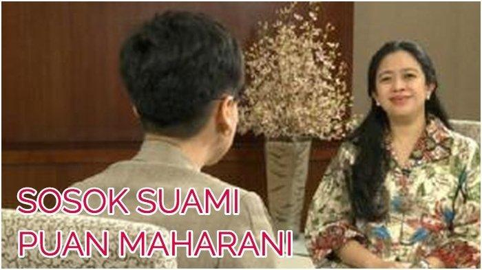 Puan Maharani Jabat Ketua DPR RI, Kenalkan Ini Hapsoro Sukmonohadi sang Suami dan 'Pabrik Uangnya'