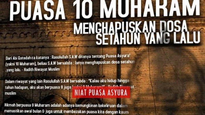 10 Muharram 2019 Jatuh Pada Tanggal 10 September, Raih Keistimewaan Puasa Asyura Hapus Dosa Setahun