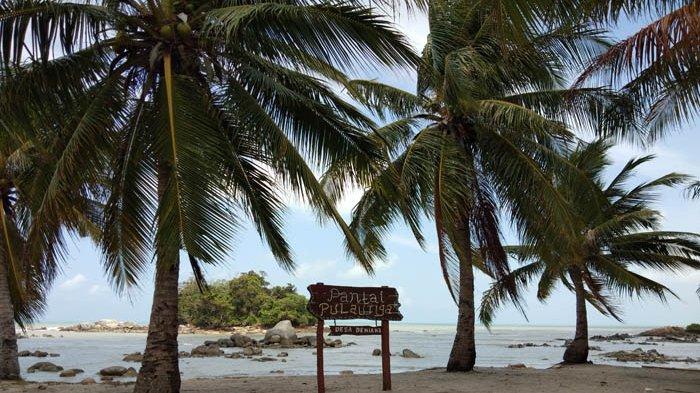 Hunting Foto di Bebatuan dan Karang Pantai Pulau Tiga BIO, Asik dan Keren Lho!