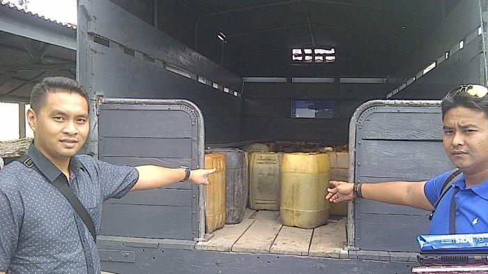 Solar SPDN Teluk Dalam Disita Polisi, Diduga Main Takaran