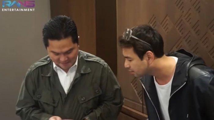 MEREK Dompet RAFFI Ahmad dan Menteri BUMN Erick Thohir Sama, Isinya Siapa yang Lebih Banyak?