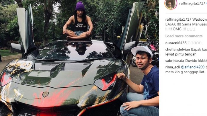 Tak Hanya Lamborghini yang Dibajak, Kamar Raffi Ahmad Digrebek Maell Lee Bukan Kaleng-kaleng
