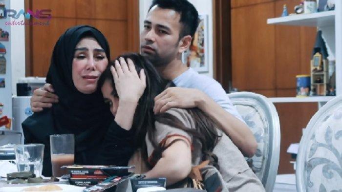 Air Mata Raffi Ahmad Tak Terbendung Saat Minta Maaf pada Mama Amy, Mendadak Singgung Kematian