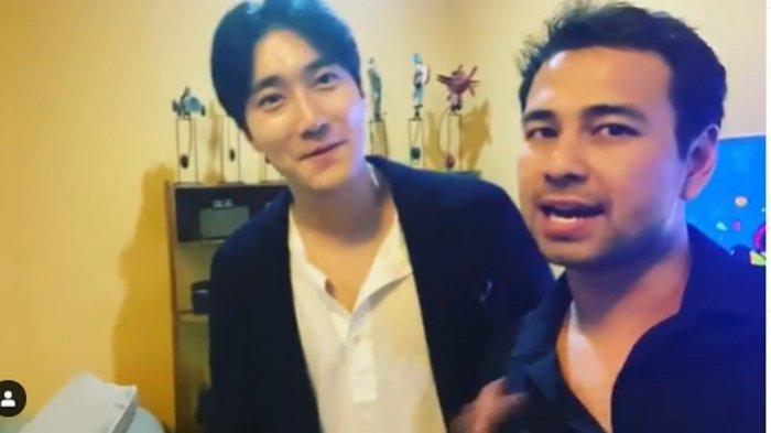 Raffi Ahmad Girang Siwon Spesial datang ke Rumahnya, Siapkan Serabi, Martabak Hingga Sate