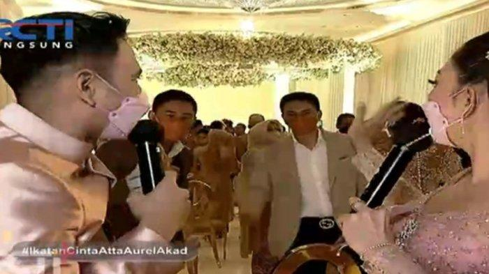 Begini Reaksi Raffi Ahmad Ketika Ketemu Anak Yuni Shara di Pernikahan Atta dan Aurel