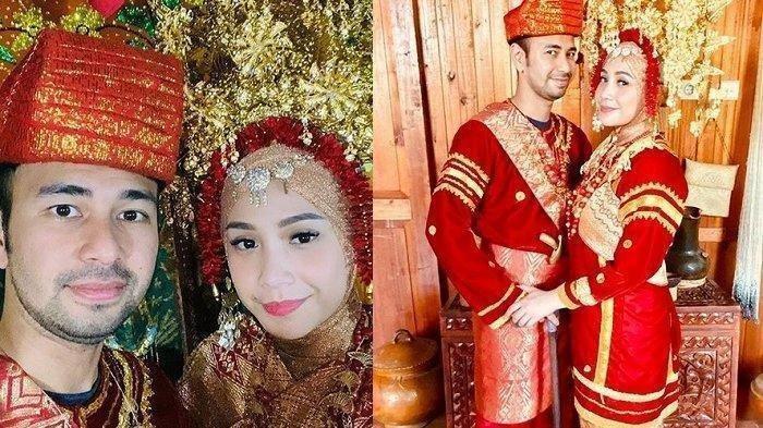 Liburan ke Padang, Raffi Malah Ajak Nagita Jadi Pengantin Lagi Pakai Adat Minang, ini Potretnya