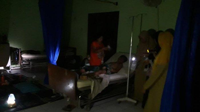 RSUD Basel Gelap Gulita, Bocah Usai Operasi Ini Meringis Menahan Sakit