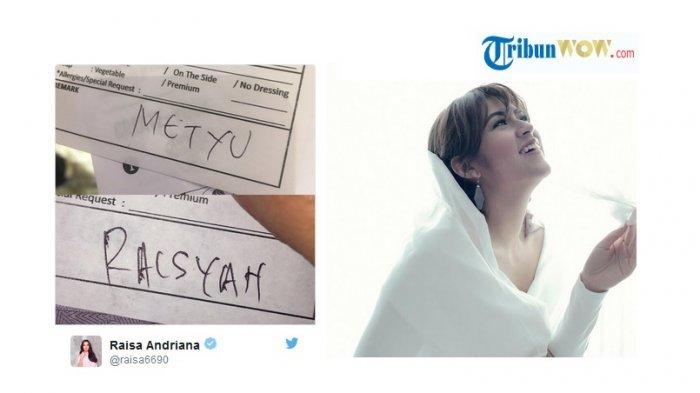 Ketika Nama Penyanyi Terkenal Raisa Ditulis Raisyah, Begini Tanggapan Netizen